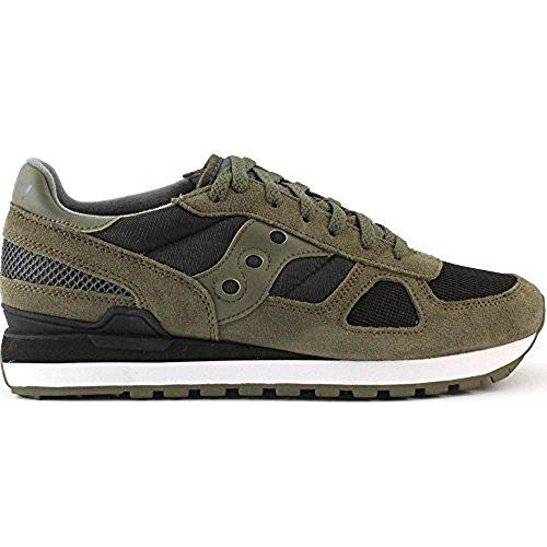 Saucony Shadow Original, Sneaker Uomo, Verde (Olive Black), 41 EU
