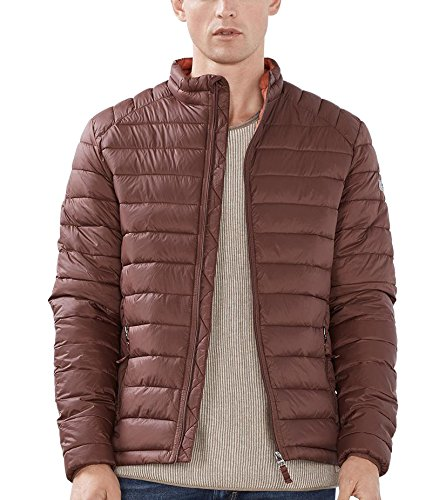 edc by ESPRIT Herren Jacke 086CC2G002, Rot (Bordeaux Red 600), XX-Large