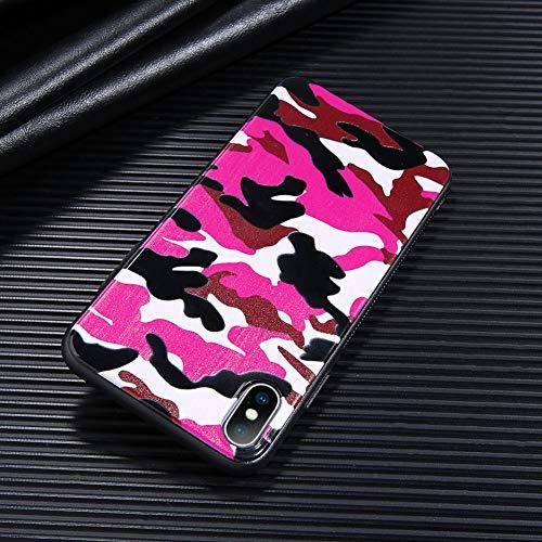 DREAMBAB Fundas Camuflaje iPhone 6 6S 7 8 Plus X XR
