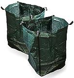 Plastic Dynamics® Tough Garden sacco 360LTR (100x 60x 60cm) x2Pack