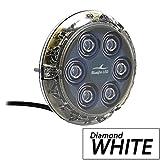 BLUEFIN LED P6N-SM-W113 Luces para Casco del Barco, Unisex Adulto, Blanco, Talla Única