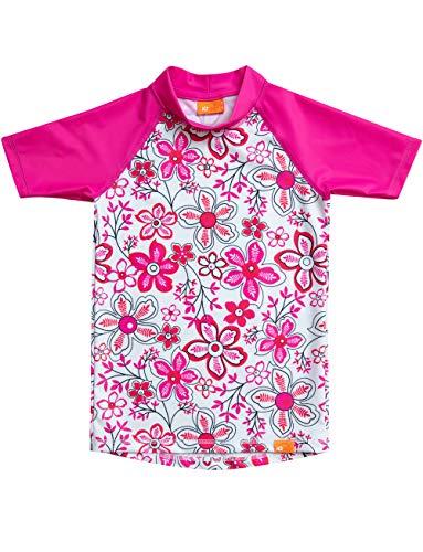 iQ-UV Mädchen Strand und Meer Schwimmen Shirt, Pink, 104