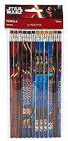 I vostri materiale scolastico sono fuori di questo mondo con l'aggiunta di Star Wars Episodio VII Il Potere della Forza Awakens Matite. Queste matite di legno fanno favori grande festa per Star Wars alla tua festa di compleanno.