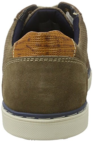 Manitu 641285, Brogues Homme Marron