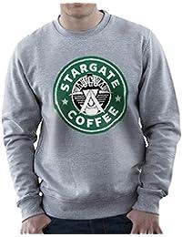 Stargate SGC Starbucks Coffee Men's Sweatshirt