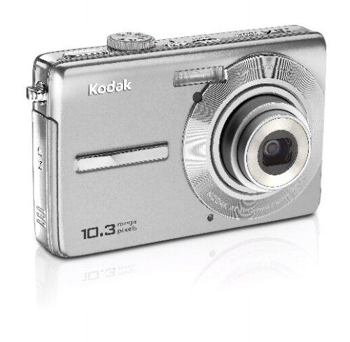 Kodak M1063 Digitalkamera (10 Megapixel, 3fach optischer Zoom, 2,7'' LCD-Farbdiplay)  silber