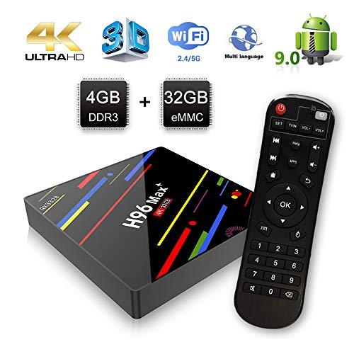 ESTGOUK H96 MAX+ Android 9.0 TV Box