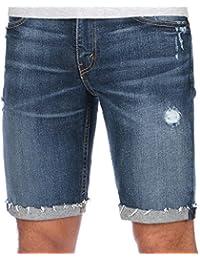 Levi's Hombre 511 Pantalones cortos de corte The Knack Denim, Azul