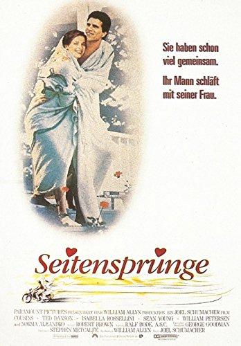 Seitensprünge (1989) | original Filmplakat, Poster [Din A1, 59 x 84 cm]