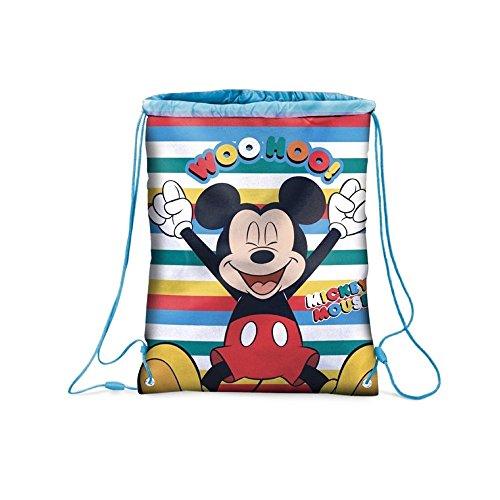 Star Disney Micky Maus & Freunde Kunst Code - 50281 Rucksäcke beidseitig Bedruckt, 32,5 x 43 cm
