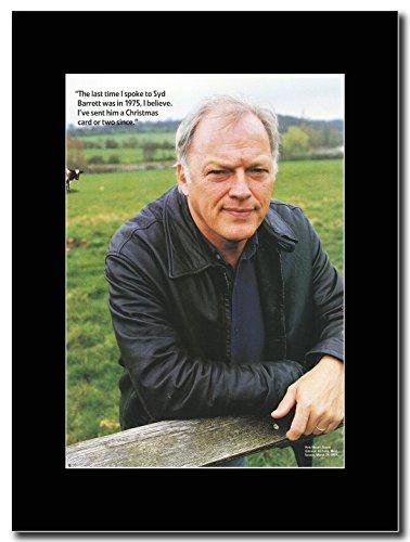 Pink Floyd-David Gilmour nella fattoria 1999 Magazine Promo su un supporto, colore: nero