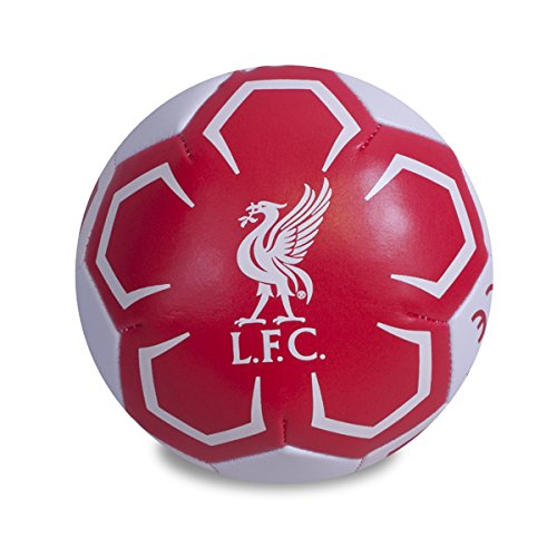 Liverpool Football Club Mini 4 inch Red Soft Ball Toy Training Official Product (Liverpool-fußball-ball)