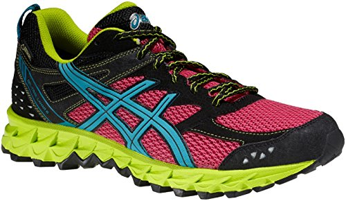 ASICS GEL TRAIL LAHAR 6 GORE TEX ROSE Chaussures Trail Asics femme Rose