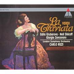 """La traviata : Act 2 """"Di Madride noi siam matadori"""" [Gastone, Flora, Dottore, Marchese, Chorus]"""