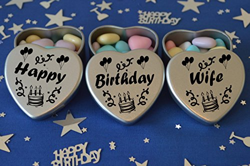 happy-birthday-wife-gift-set-of-3-silver-mini-heart-tins-filled-with-chocolate-dragees-perfect-birth