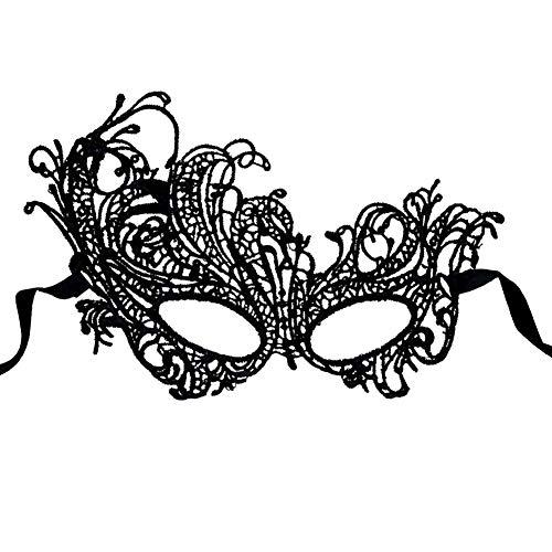 Wilk Frauen-Spitze-Maske Venedig Sexy Gesicht Kostüm Maskerade für Karneval, Venezianischer Karneval Phoenix Maske Maske