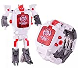 #10: Kiditos Transforming Robot Toy Convert To Digital Watch For Kids -1 Piece (White)