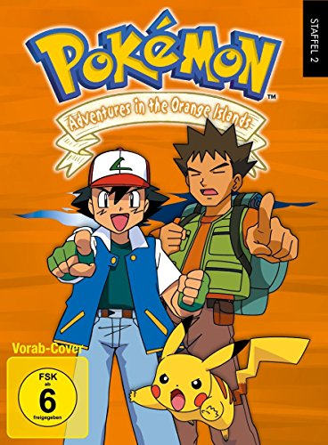 Pokémon - Staffel 2: Adventures in the Orange Islands [7 DVD Digipack im Schuber]