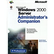 Microsoft Windows 2000 Server, w. CD-ROM (IT-Administrator's Companion)