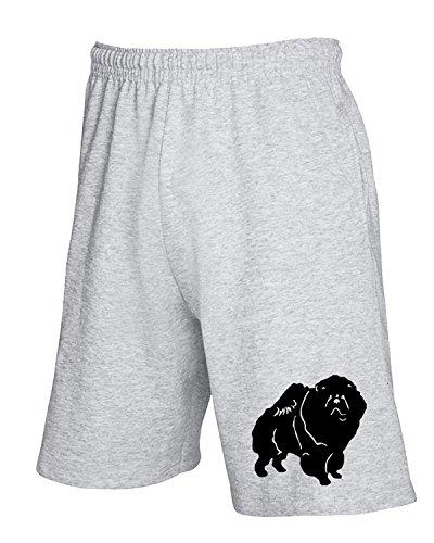 t-shirtshock-jogginghose-shorts-fun0306-15g-chow-dog-decal-68142-gr-l