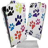"""Stylebitz / Étui motif pattes de chats et chiens pour Apple iPhone 6 (4.7"""") avec chiffon de nettoyage Stylebitz (multicolore)"""