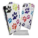 Love My Case zampa in custodia, cover, con panno per la pulizia dello schermo per Apple iPhone 6Plus (14cm)