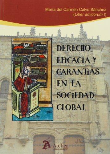 Derecho,  Eficacia Y Garantías En La Sociedad Global. Liber Amicorum I En Honor De María Del Carmen Calvo Sánchez (Processus Iudicii)