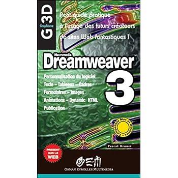 Dreamweaver 3 - graphiques 3D