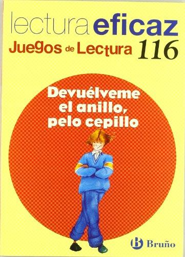 Devuélveme el anillo, pelo cepillo juego lectura (castellano - material complementario - juegos de lectura) - 9788421698