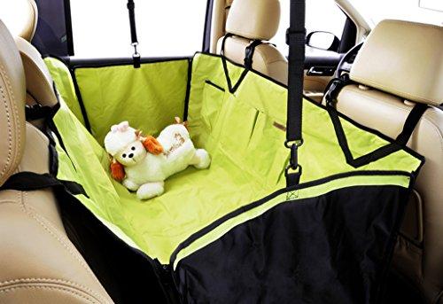 Asiento trasero del coche Alfombrillas para mascotas Uso del vehículo Perros impermeables...