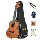Best Ukulele Strings - UBETA UC-031 Concert Ukulele Acajou Aquila Strings Débutant Review