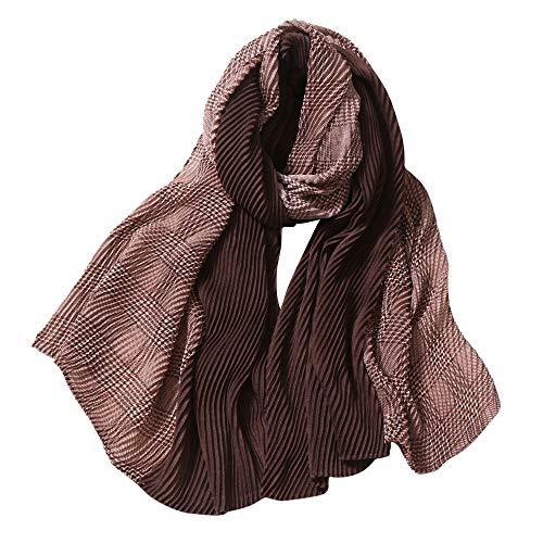 (Schal, Quaan Mode Frau Leopard Drucken Lange Weich Wickeln Schal Schal Schals)