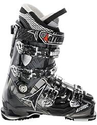Atomic Hawx 100 - Bota para esquiar, color negro y transparente