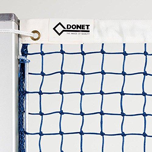 Donet Tennisnetz ca. 3 mm ø stark, blau, Polyethylen
