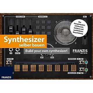 FRANZIS Synthesizer selber bauen   Komplettpaket mit Bausatz zum Basteln und Löten   Ab 14 Jahren