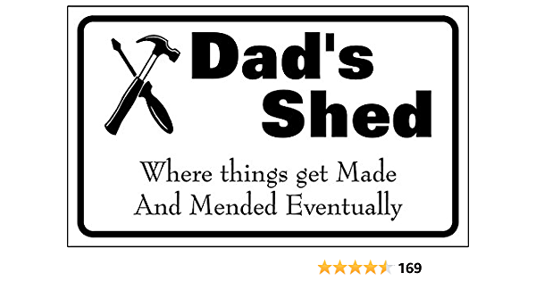 Definition Sign Dad Fathers Day Gift Grandad Funny Shed Garden 271