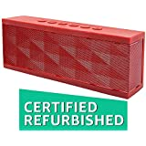 (Renewed) SoundBot SB571 Bluetooth Speakers (Red)