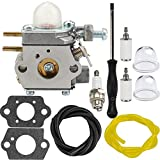 Dalom 753-06190 Carburetor w Carb Adjustment Tool for Troy Bilt TB22 TB21EC TB22EC TB32EC TB42EC TB80EC TB2040XP Trimmer Weed Eater Murray M2500 M2510 Brushcutter