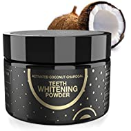 Teeth Whitening Activated Charcoal Powder By Fairywill, Proven Safe for Enamel Coconut Charcoal Powder Efficient Alternative To Charcoal Toothpaste, Strips, Kits and Gels
