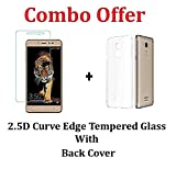 #10: Coolpad Note 5 Tempered Glass + Back Cover [Combo Pack]