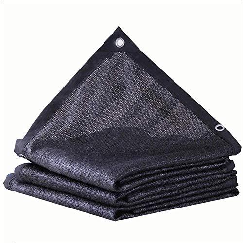 ttiertes schwarzes Canvas-Netz Verschleißfester Stoff Anti-Aging, Multi-Size-Option, (2x6m) (Farbe : Negro, größe : 2x3m) ()