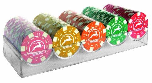 Modiano Set 100 chips da 14g in 5 colori - senza valore