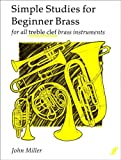 Simple Studies for Beginner Brass - for all treble clef brass instruments