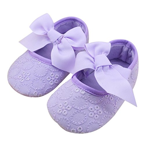 pour 0-18 mois Bébé, Amlaiworld Chaussures Bébés filles bowknot mous