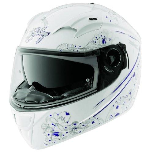 #Caberg VOX ROMANTIK Damen Motorrad Helm weiß/mehrfarbig#
