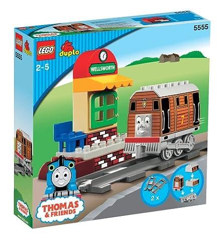 LEGO Duplo Thomas & Freunde 5555 - Toby auf dem Bahnhof von Wellsworth