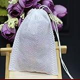 KESOTO 50 Stück Teebeutel Teefilter Tasse Fein Kanne Filter - 20x25cm