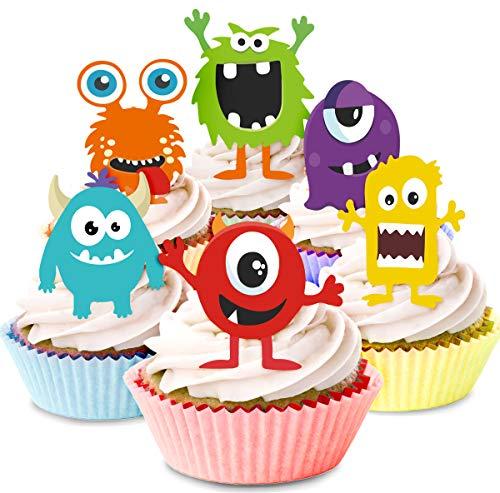 er Cupcake Picker Party Dekorationen (24 Stück) ()