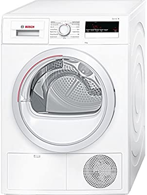 Bosch Serie 4 WTH85200ES Secadora Independiente Carga frontal 8kg A++ Color blanco (Independiente, Carga frontal, Color blanco, LED, Izquierda, Giratorio)