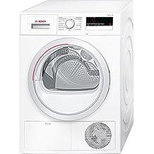 Bosch Serie 4 WTH85200ES Secadora Independiente Carga frontal 8kg A++ Color blanco (Independiente, Carga frontal, Color blanco, LED, Izquierda, Giratorio)